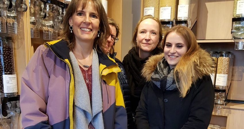 Ulrike Fröhlich, Irmi Lorenz, Sarah Habeck, Linn Fischer