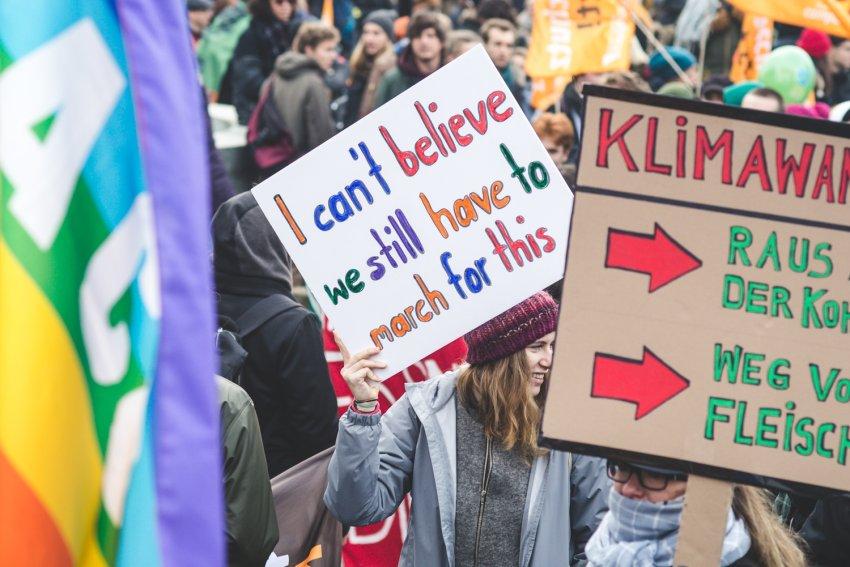Klimastreik: Alle fürs Klima!